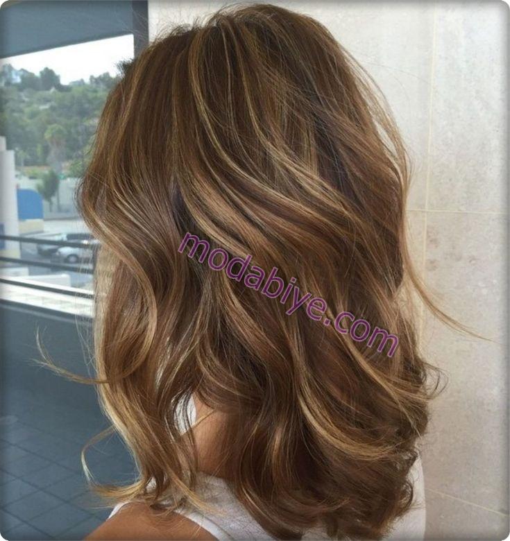 Bal rengi acık kahve rengi saç renkleri