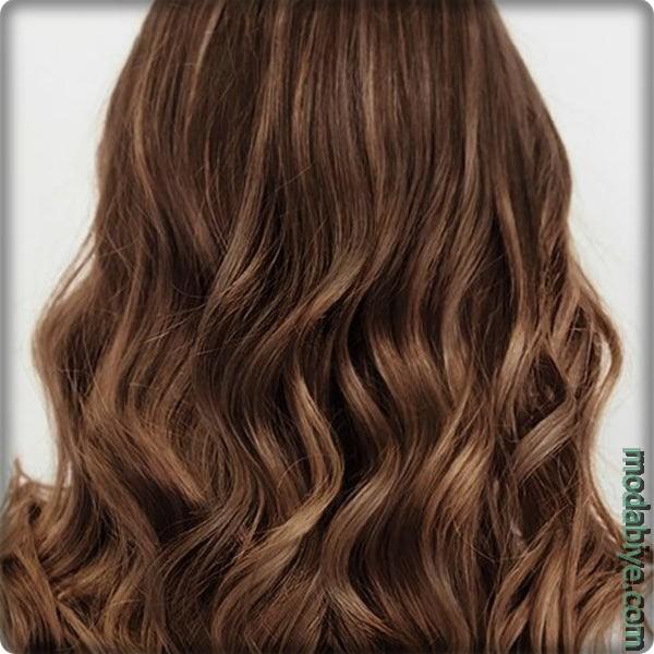 Doğal Açık Kahverengi Saç Modelleri