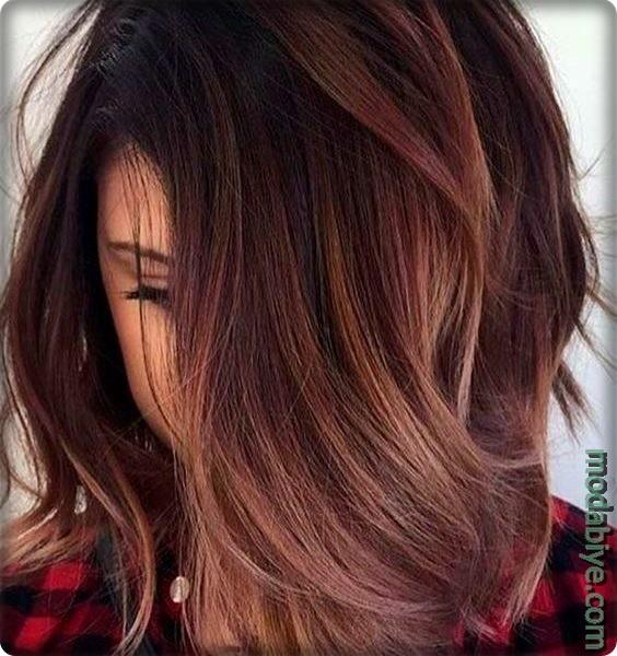 Kahverengi saç şekilleri