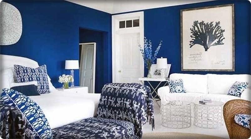 Kobalt Mavisi Dekorasyon Fikirleri