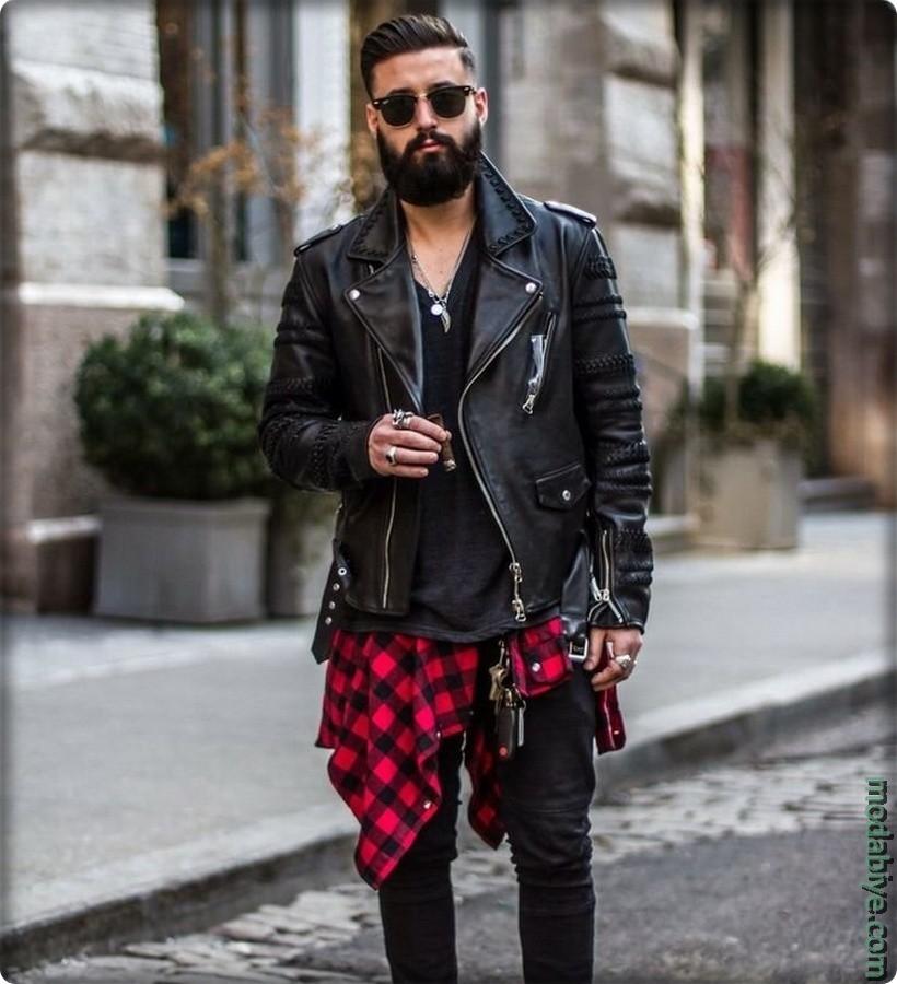 Sokak style Erkek grunge giyim