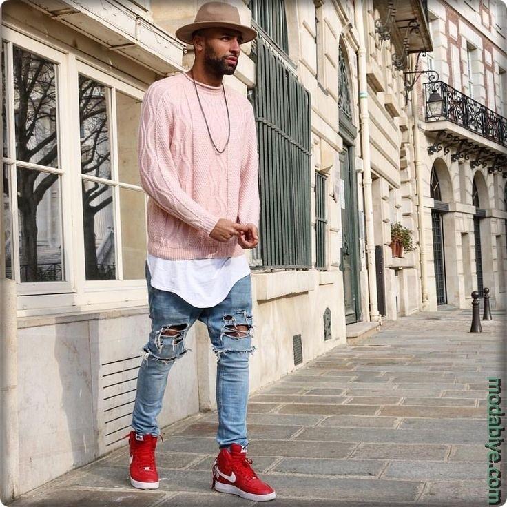 Street style erkek giyim fikirleri