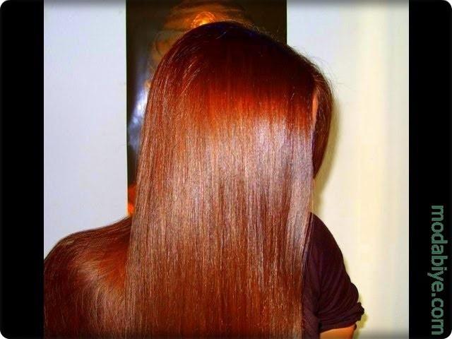 Kına ile saç nasıl boyanır
