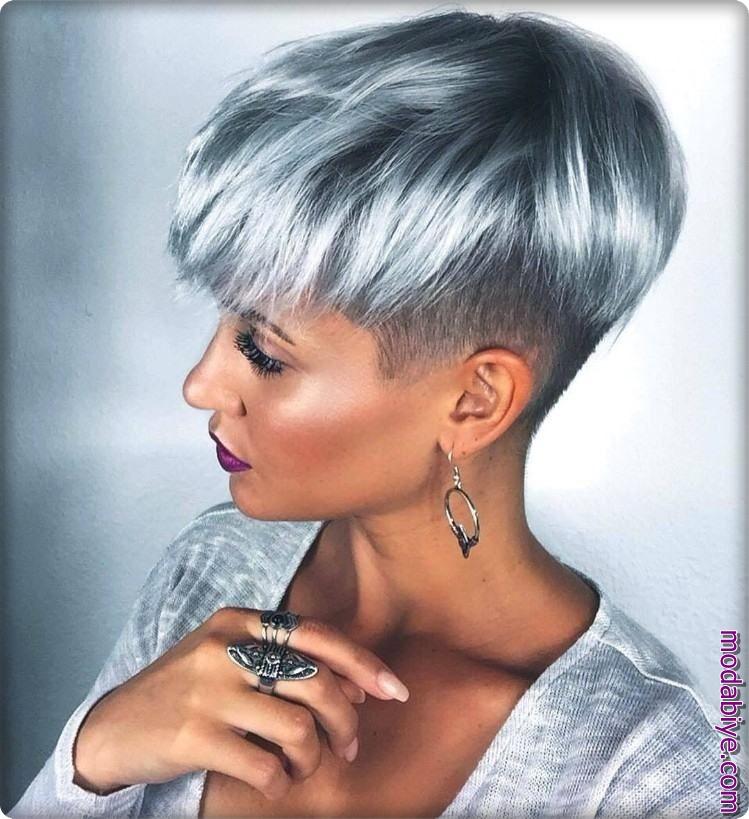 2020 yaratıcı pixie saç modelleri