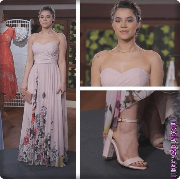 Desenli Uzun Kır Düğünü Elbise Modelleri