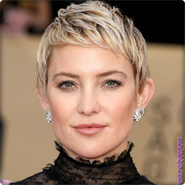 Kate Hudson Kısa Saç Modeli