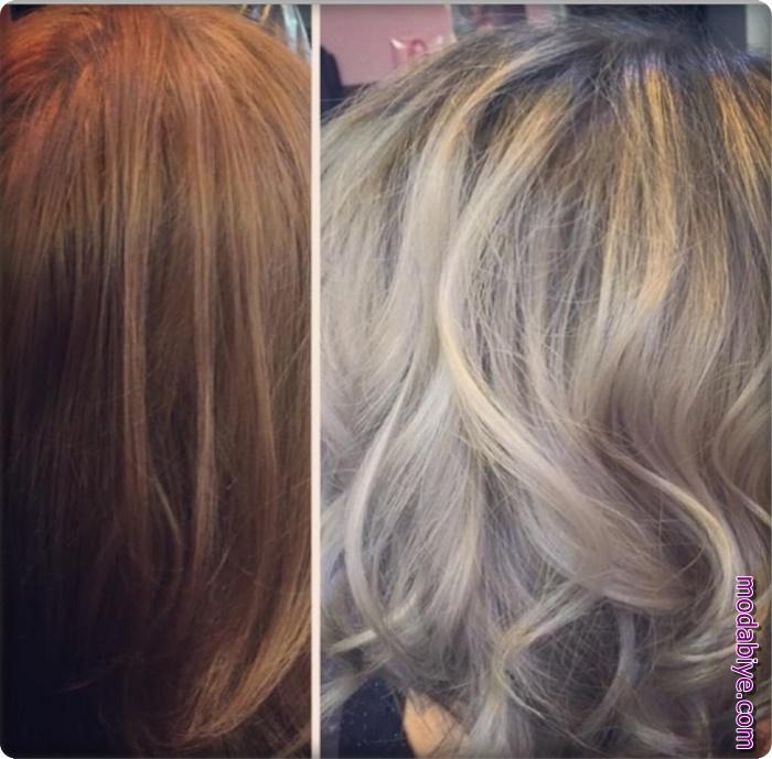 C Vitamini ile kendi saç rengine dönme