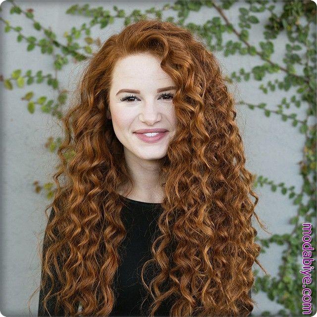 Doğal bukleli saç modelleri