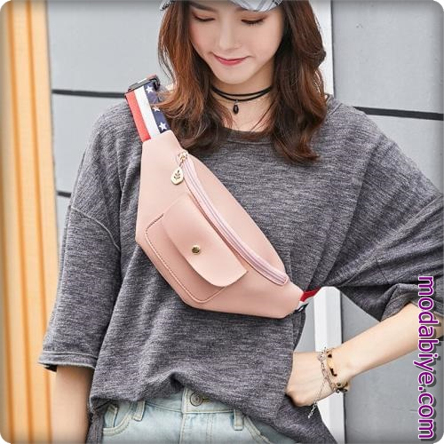 Kadın omuz ve bel çantaları