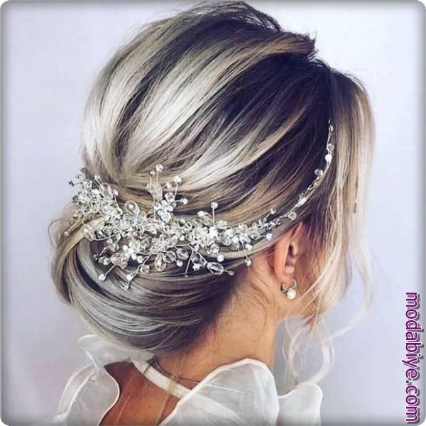 Kristal saç modelleri