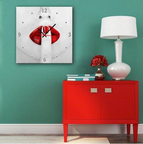 Özel tasarım kanvas duvar saatleri
