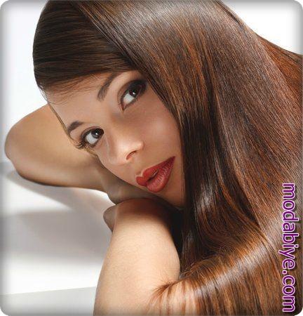 Parlak saç camdan saç modelleri