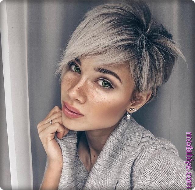 Pixie model saç kesimleri