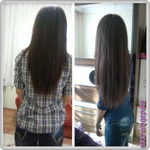 Saç uzatma teknikleri