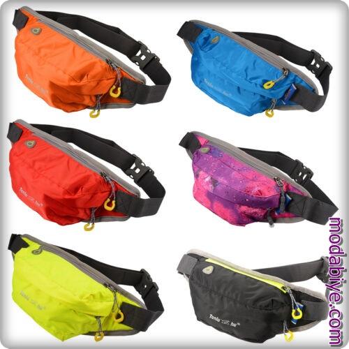 Su geçirmez koşu spor bel çantası modelleri