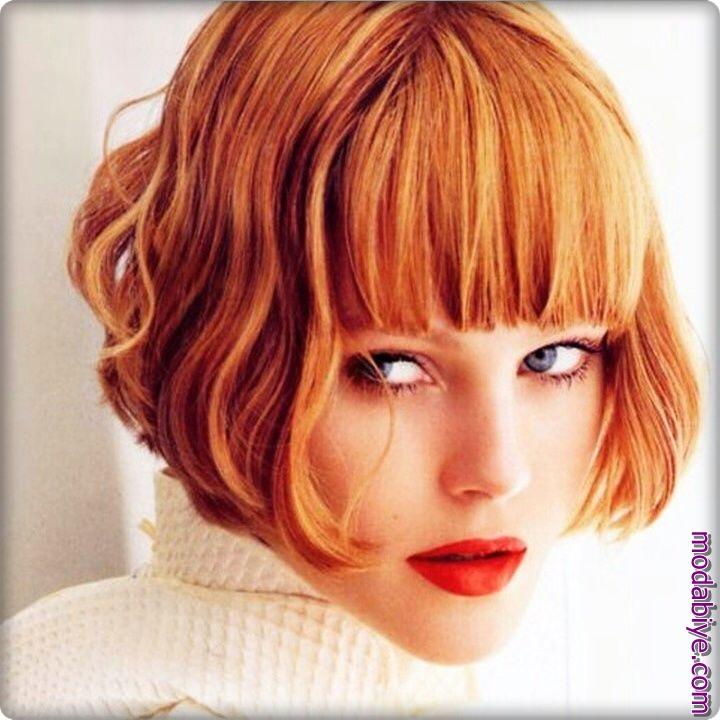 Vintage bob saç modelleri