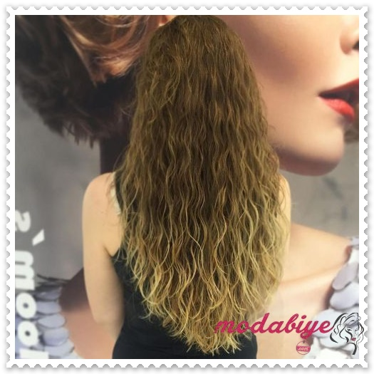 Ombre perma saç modelleri
