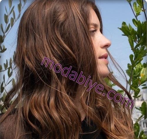 Kestane renk saç rengi