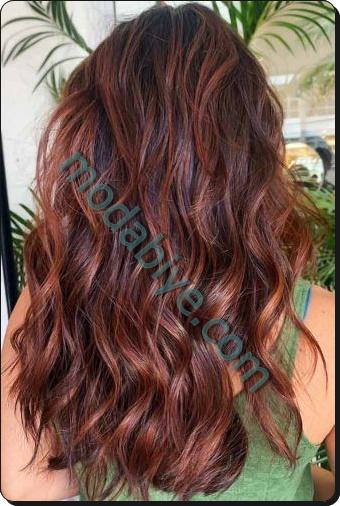 Kumral kestane saç renkleri