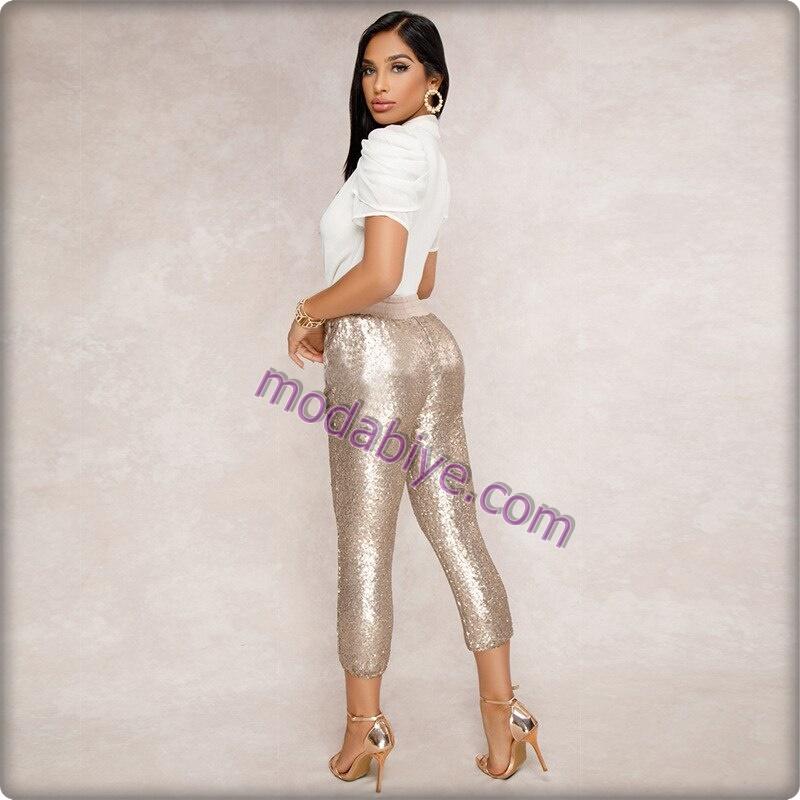 Payetli kalem pantolon modelleri