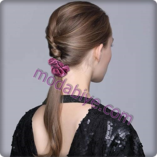 Scrunchies saç tokası