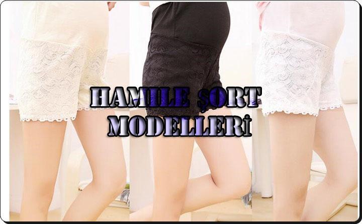 Hamile Şort Modelleri