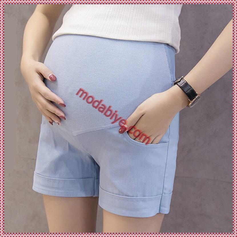 Rahat hamile şort modelleri