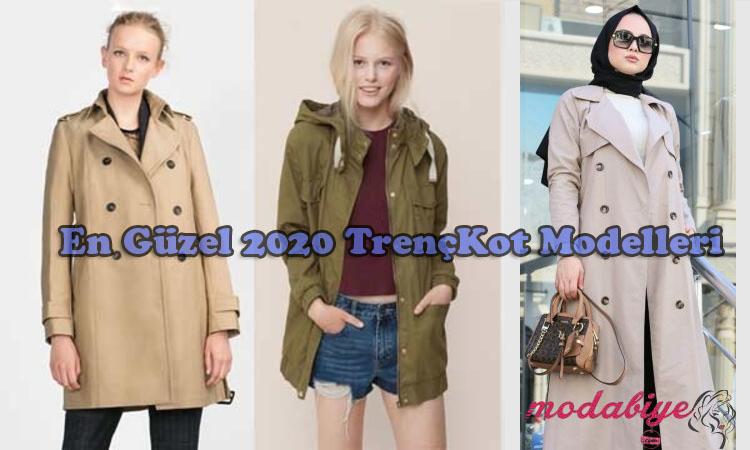 2020TrençKot Modelleri