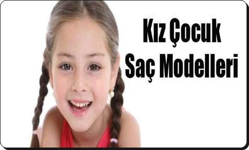 Küçük kız çocukları için saç modelleri