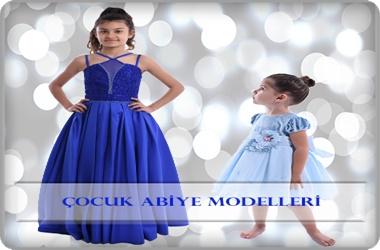 Çocuk Abiye Elbise Modelleri