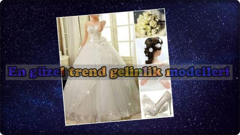 Trend son moda ucuz gelinklik modelleri