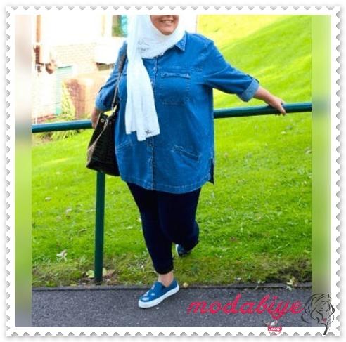 Tesettürlü kilolu kadınlar nasıl giyinmeli kilolu şişman kadılar nasıl giyinmeli