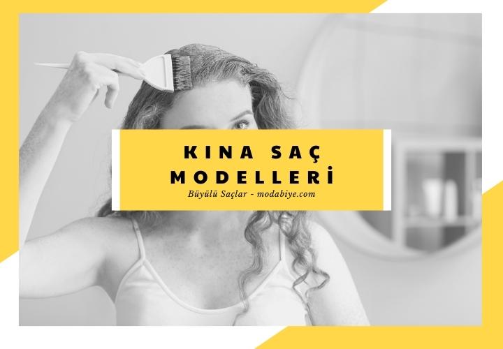 Kına Saç Modelleri