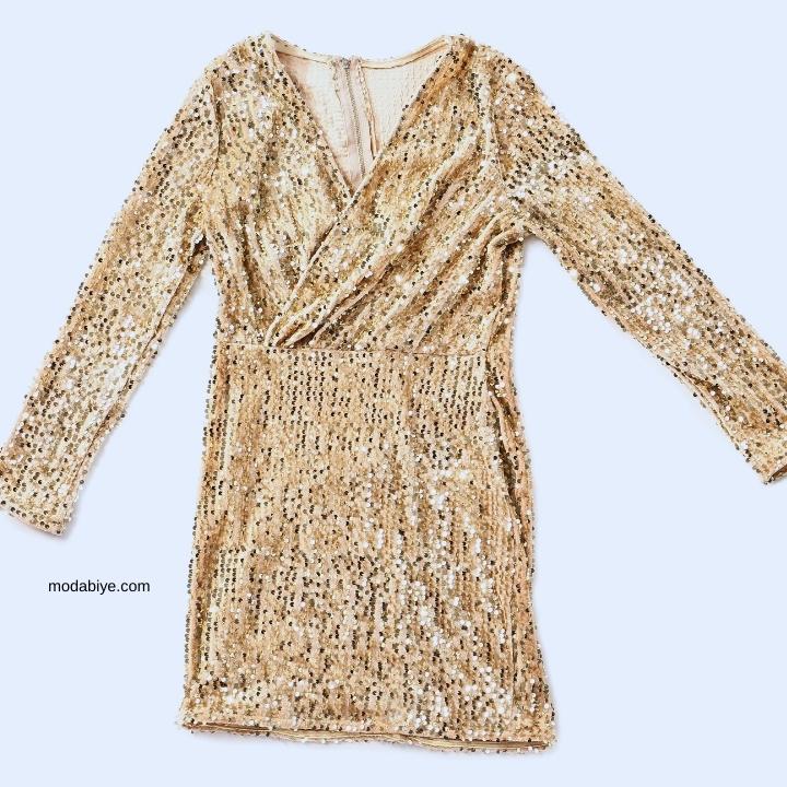 Sonbahar – Kış Payetli Elbise Modelleri